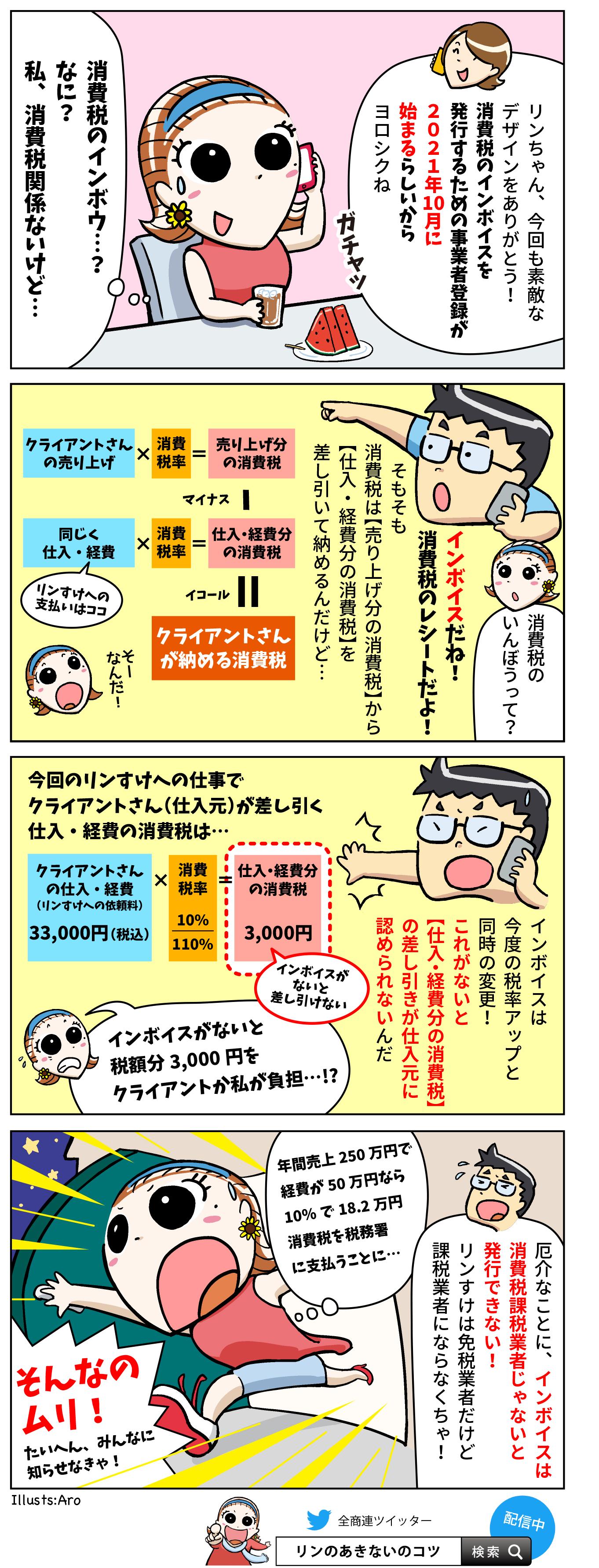 第18回「消費税インボイスで売上1千万円以下も課税に?」