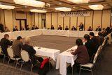 持続可能な地域経済を 業界懇談会で交流 全中連