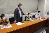 持続化給付金 「収入未記載でも給付」徹底を 関東経済産業局に4都県連申し入れ